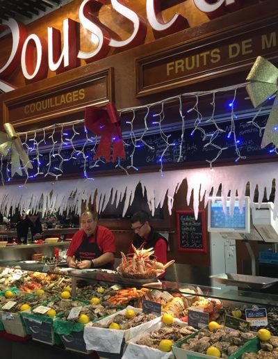 Fruits de Mer Maison Rousseau Halles de Lyon
