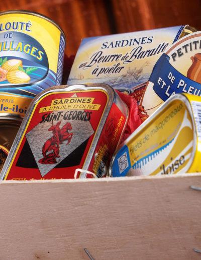 Sardines Maison Rousseau Halles de Lyon